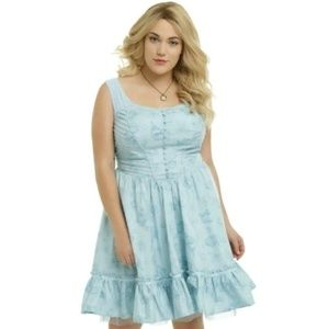 Disney Hot Topic Alice In Wonderland Dress, XL